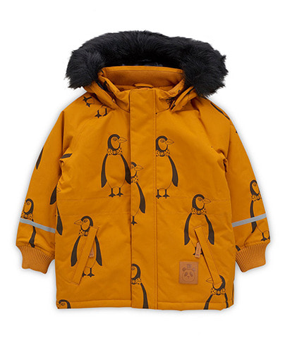 K2 penguin parka_ Brown