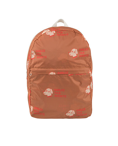 """DOGS"" BACKPACK_cinnamon"