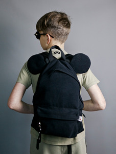 Backpack with ears (Black )